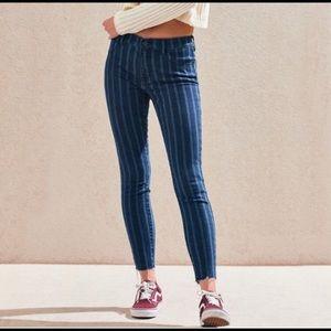 PacSun Striped Jeans
